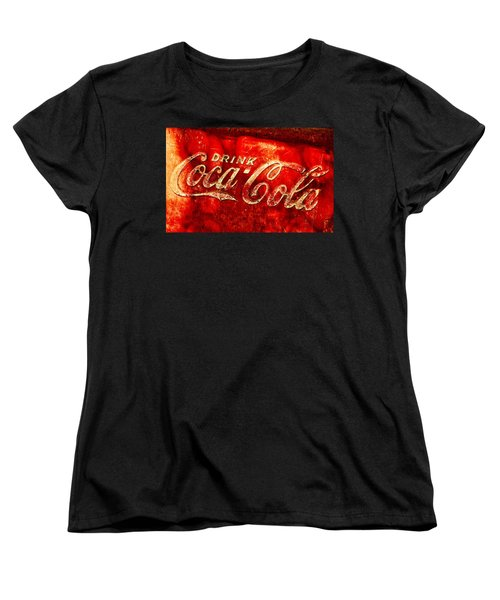 Antique Coca-cola Cooler Women's T-Shirt (Standard Cut) by Stephen Anderson