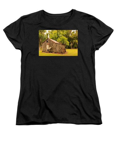 Antique Shed Women's T-Shirt (Standard Cut) by Ronald Olivier