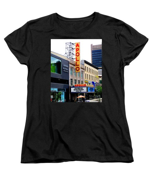 Women's T-Shirt (Standard Cut) featuring the photograph Apollo Theater by Randall Weidner