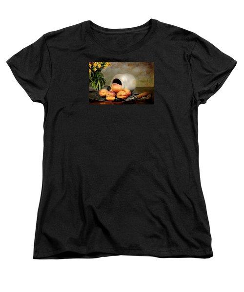 Apricots Women's T-Shirt (Standard Cut) by Diana Angstadt