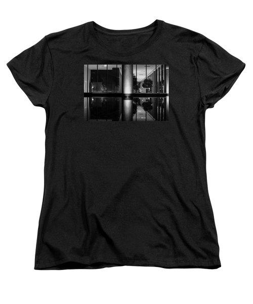 Architectural Reflecting Pool Women's T-Shirt (Standard Cut) by John McArthur