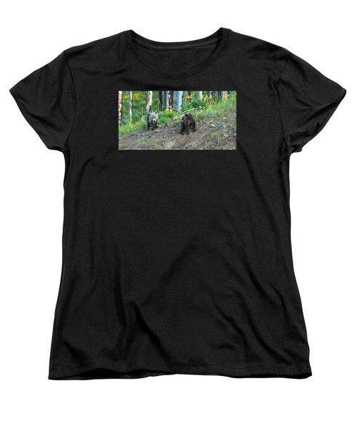 Women's T-Shirt (Standard Cut) featuring the photograph Are You Coming With Me by Yeates Photography