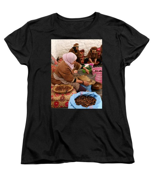 Women's T-Shirt (Standard Cut) featuring the photograph Argan Oil 2 by Andrew Fare