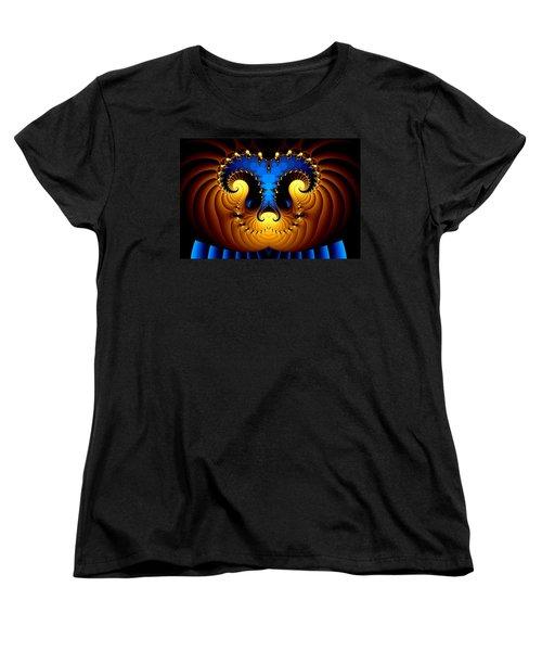 Women's T-Shirt (Standard Cut) featuring the digital art Aries by Svetlana Nikolova