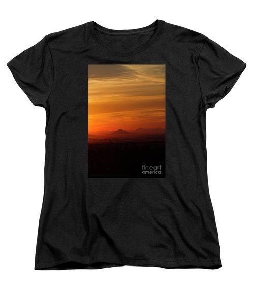 Arizona Sunrise Women's T-Shirt (Standard Cut) by Anne Rodkin