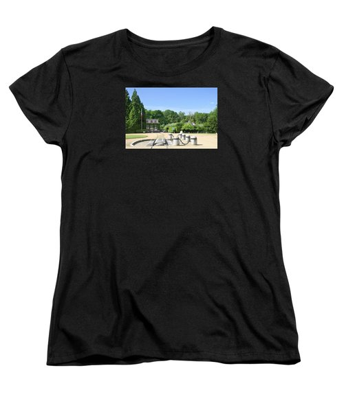 Women's T-Shirt (Standard Cut) featuring the photograph Armistice Clearing In Compiegne by Travel Pics