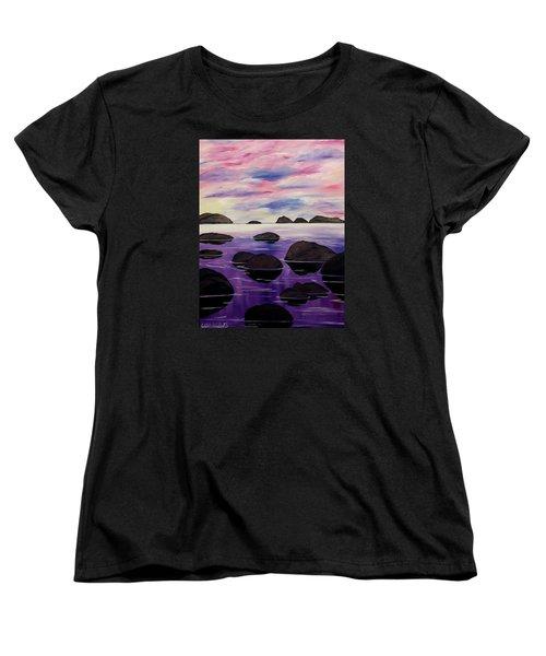 Around This Love Women's T-Shirt (Standard Cut) by Lisa Aerts