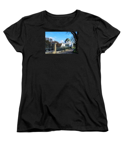 Art Deco Pavillon Women's T-Shirt (Standard Cut) by Christian Slanec