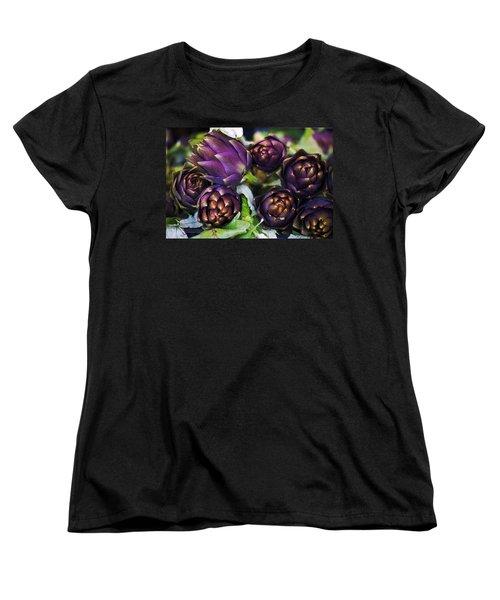 Artichokes  Women's T-Shirt (Standard Cut) by Joana Kruse
