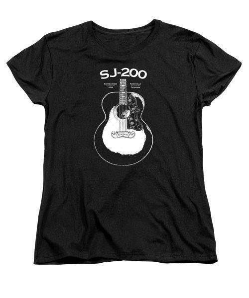 Gibson Sj-200 1948 Women's T-Shirt (Standard Cut)