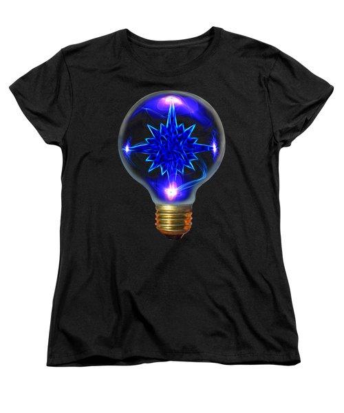 Women's T-Shirt (Standard Cut) featuring the photograph A Bright Idea by Shane Bechler