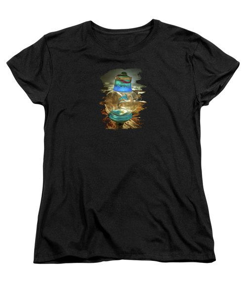 Beach Treasures - Faith Women's T-Shirt (Standard Cut) by Thom Zehrfeld