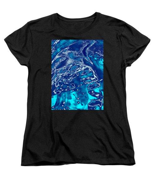 Molten Metal Splash Women's T-Shirt (Standard Cut)