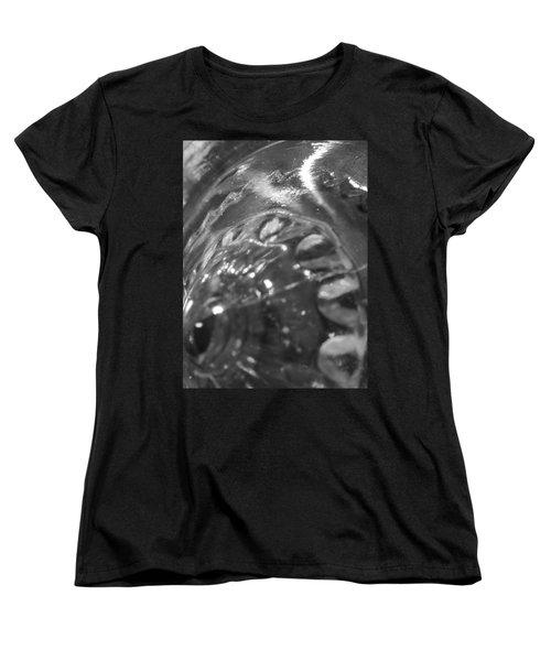 Metallic Glass Women's T-Shirt (Standard Cut)
