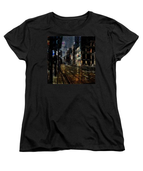 As The Sun Goes Down Women's T-Shirt (Standard Cut) by Nicky Jameson