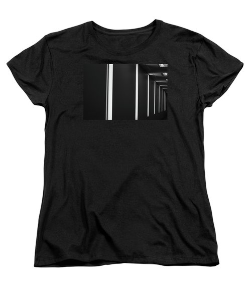 Women's T-Shirt (Standard Cut) featuring the photograph Asheville Abstract  by Gray  Artus