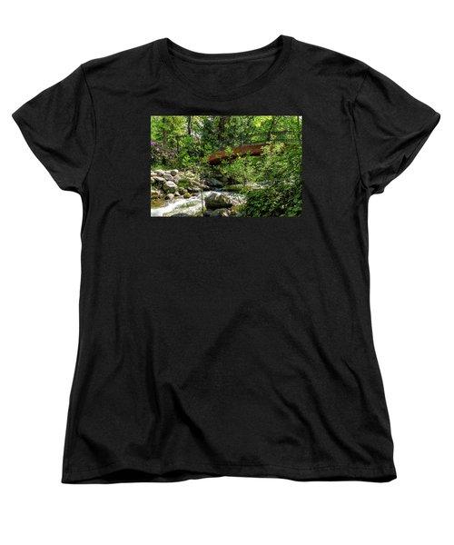 Ashland Creek Women's T-Shirt (Standard Cut) by James Eddy