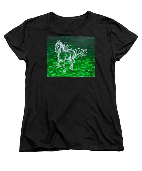 Astral Horse Women's T-Shirt (Standard Cut)