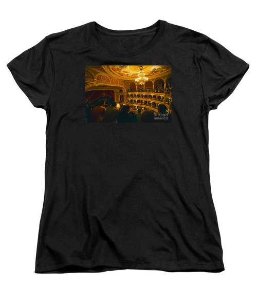 At The Budapest Opera House Women's T-Shirt (Standard Cut) by Madeline Ellis