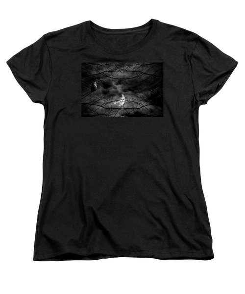 Athena's Bird Women's T-Shirt (Standard Cut) by Lourry Legarde