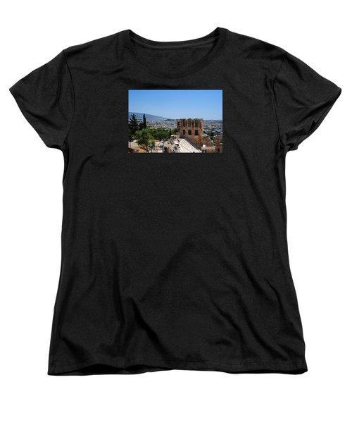 Athens Women's T-Shirt (Standard Cut) by Robert Moss