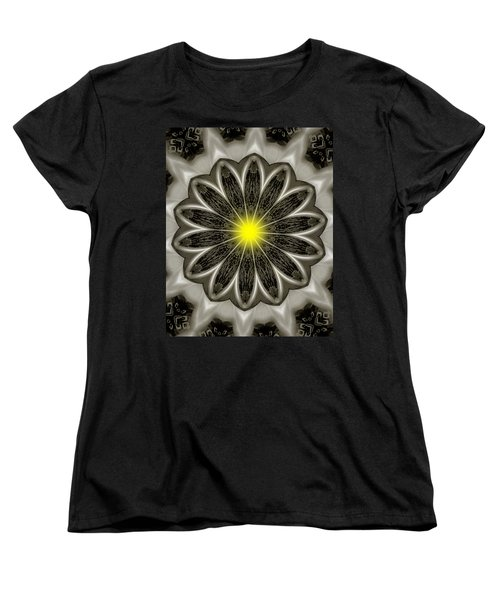 Atomic Lotus No. 2 Women's T-Shirt (Standard Cut) by Bob Wall