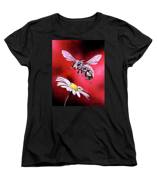 Attack Of The Silver Bee Women's T-Shirt (Standard Cut)