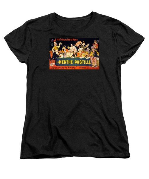 Au Tribunal De La Haye La Menthe Pastille Vintage Women's T-Shirt (Standard Cut) by Carsten Reisinger
