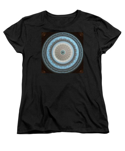 Austin Dome In Gray/blue Women's T-Shirt (Standard Cut) by Karen J Shine