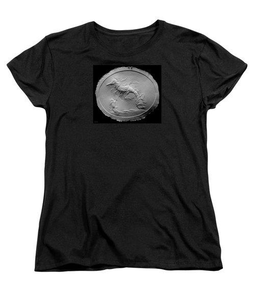Australian Reef Sea Horse Women's T-Shirt (Standard Cut) by Suhas Tavkar