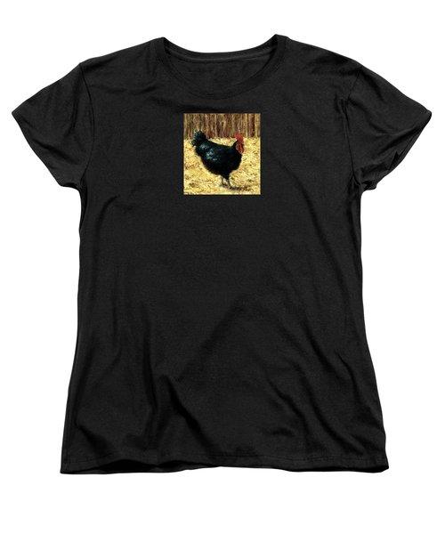 Australorp Rooster Women's T-Shirt (Standard Cut) by Jill Musser