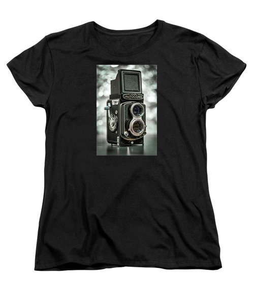 Women's T-Shirt (Standard Cut) featuring the photograph Autocord by Keith Hawley