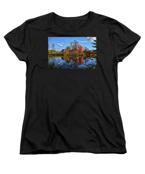 Autumn At The Farm Women's T-Shirt (Standard Cut) by Tricia Marchlik