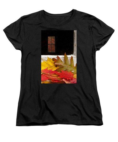Autumn Colors Women's T-Shirt (Standard Cut) by Andrew Soundarajan