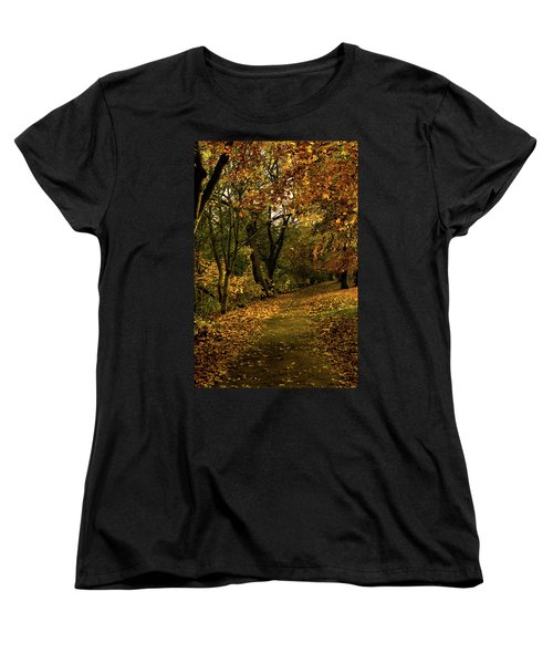 Autumn / Fall By The River Ness Women's T-Shirt (Standard Cut) by Jacqi Elmslie