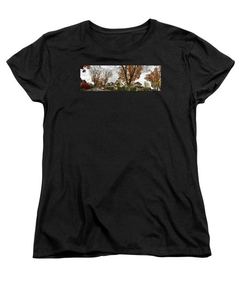 Autumn In The City 11 Women's T-Shirt (Standard Cut) by Victor K