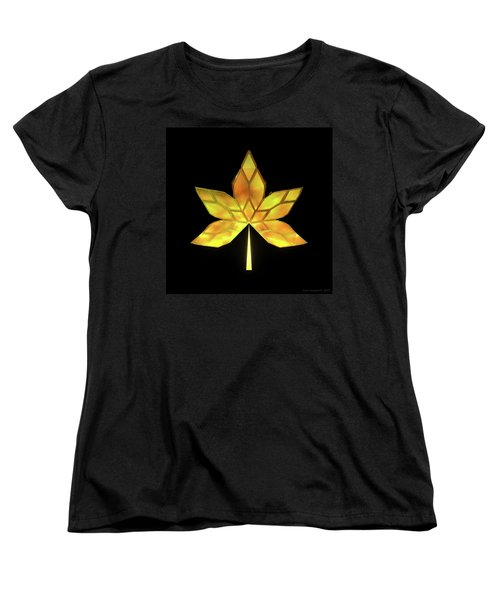 Autumn Leaves - Frame 070 Women's T-Shirt (Standard Fit)
