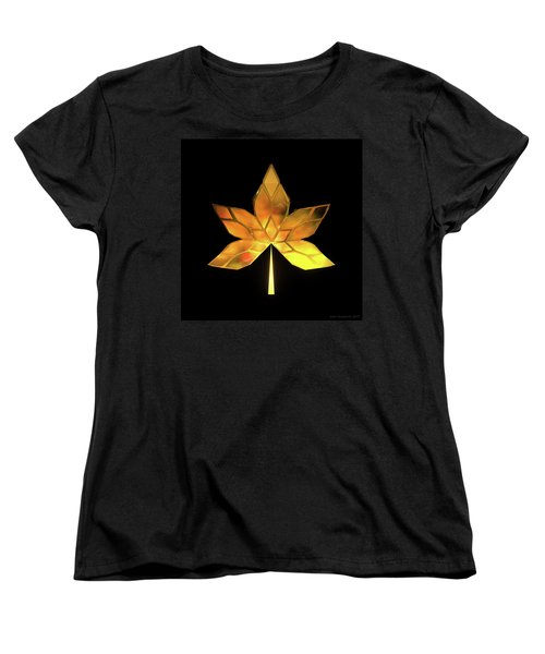 Autumn Leaves - Frame 200 Women's T-Shirt (Standard Fit)