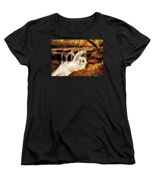 Autumn Solitude Women's T-Shirt (Standard Cut) by L O C