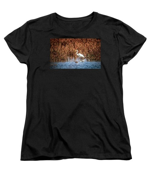 Autumn's Shore Women's T-Shirt (Standard Cut)