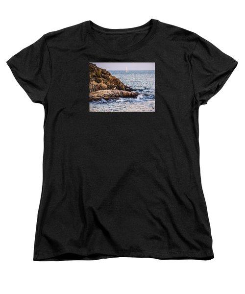 Awaiting The Call Women's T-Shirt (Standard Cut) by Glenn Feron