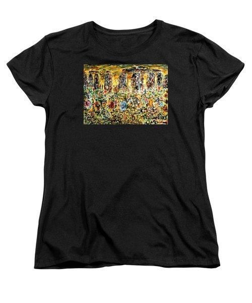 Awaiting The Sun Women's T-Shirt (Standard Cut)