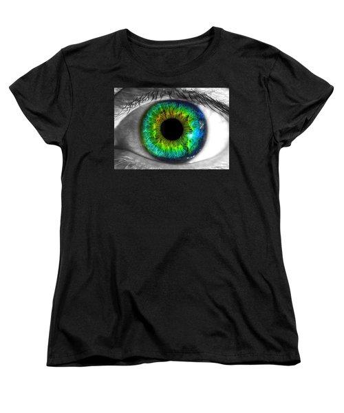 Aye Eye Women's T-Shirt (Standard Cut) by Paul Wilford