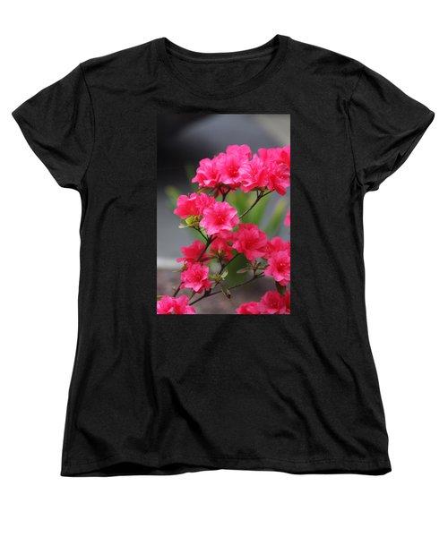 Azalea Women's T-Shirt (Standard Cut) by Vadim Levin