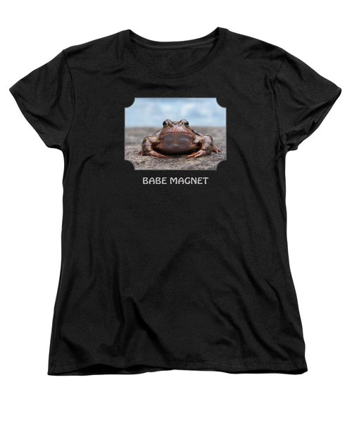Babe Magnet Women's T-Shirt (Standard Cut) by Gill Billington