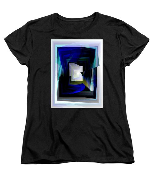The End Of The Tunnel Women's T-Shirt (Standard Cut) by Thibault Toussaint