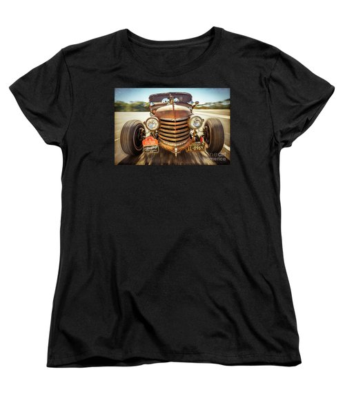 Women's T-Shirt (Standard Cut) featuring the photograph Bad Boy's Toy by Jola Martysz