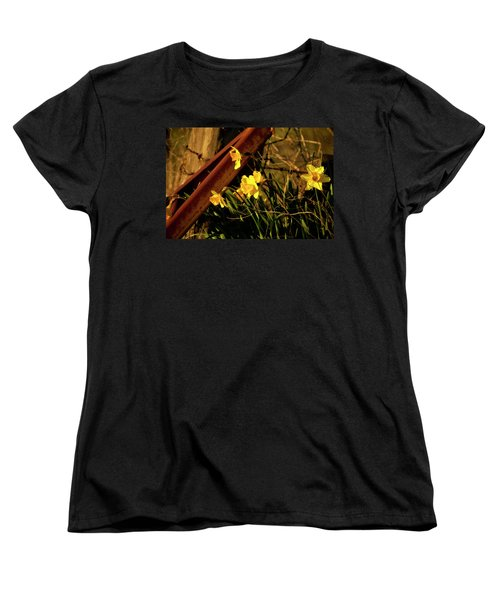 Women's T-Shirt (Standard Cut) featuring the photograph Bad Situation by Albert Seger