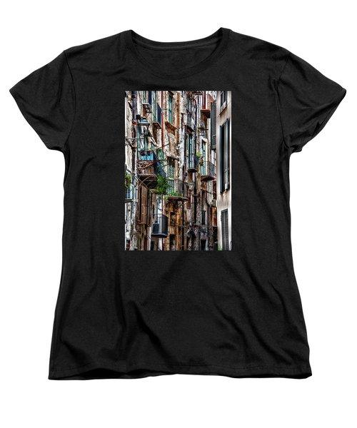 Balconies Of Palermo Women's T-Shirt (Standard Cut)