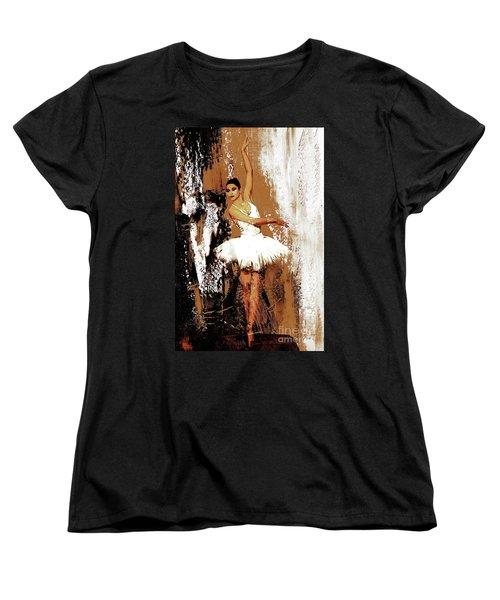 Ballerina Dance 093 Women's T-Shirt (Standard Cut) by Gull G